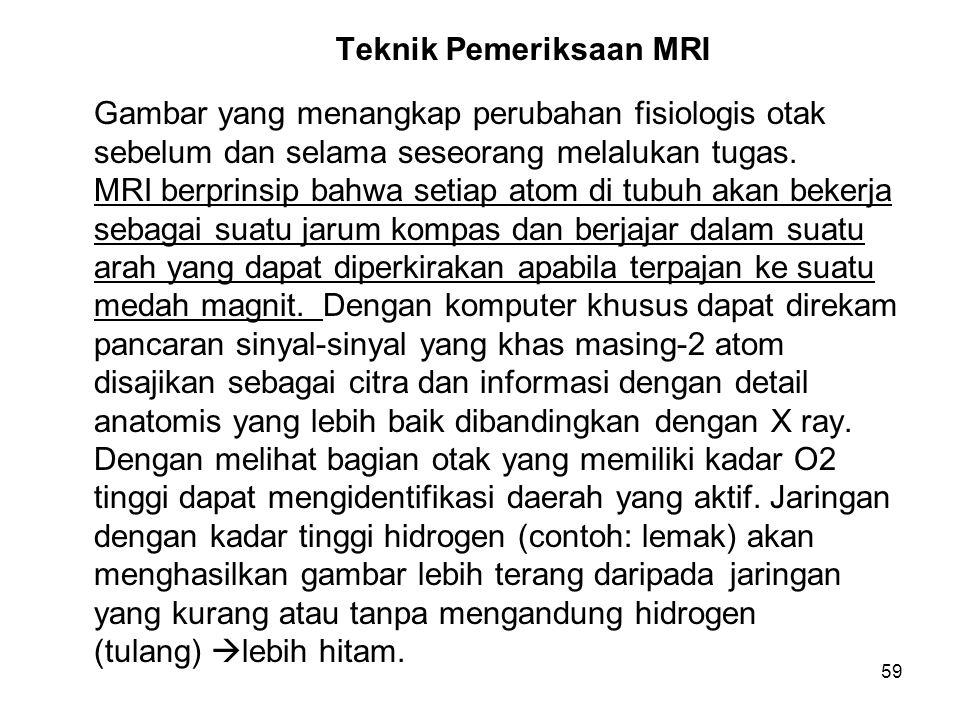 Teknik Pemeriksaan MRI