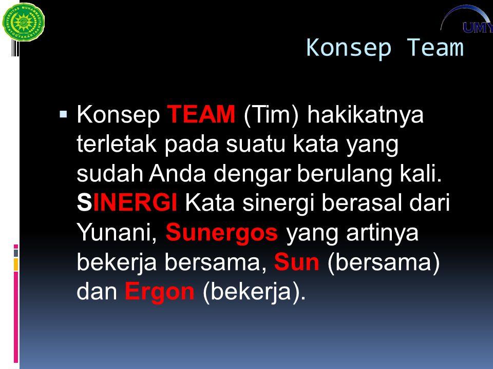 Konsep Team