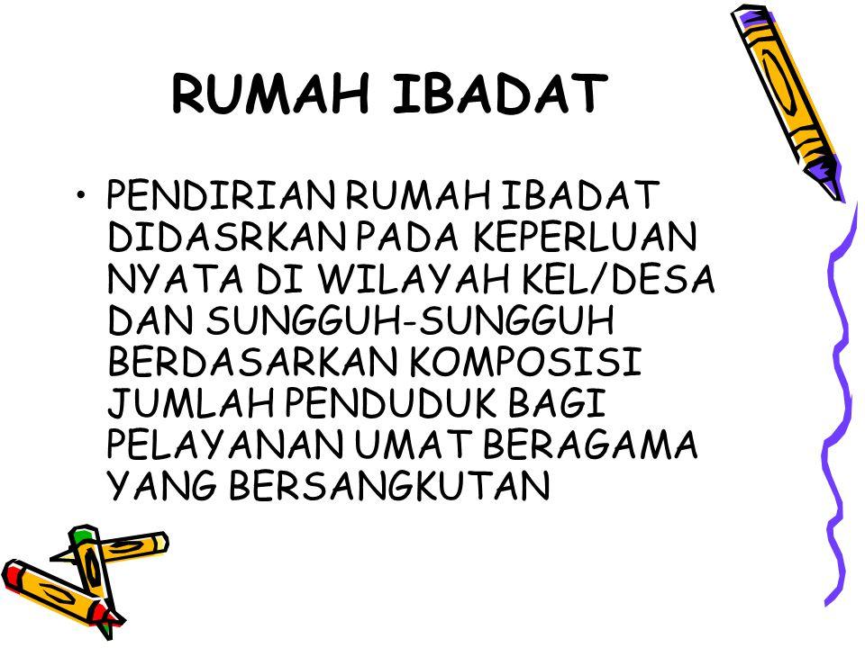 RUMAH IBADAT