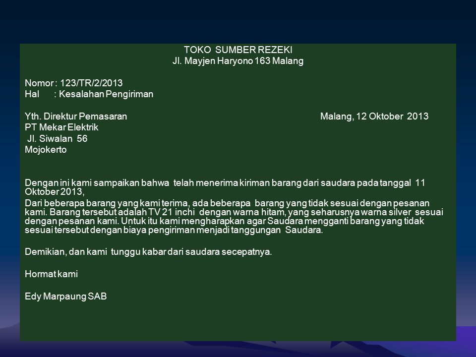 Jl. Mayjen Haryono 163 Malang