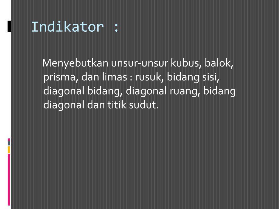 Indikator :