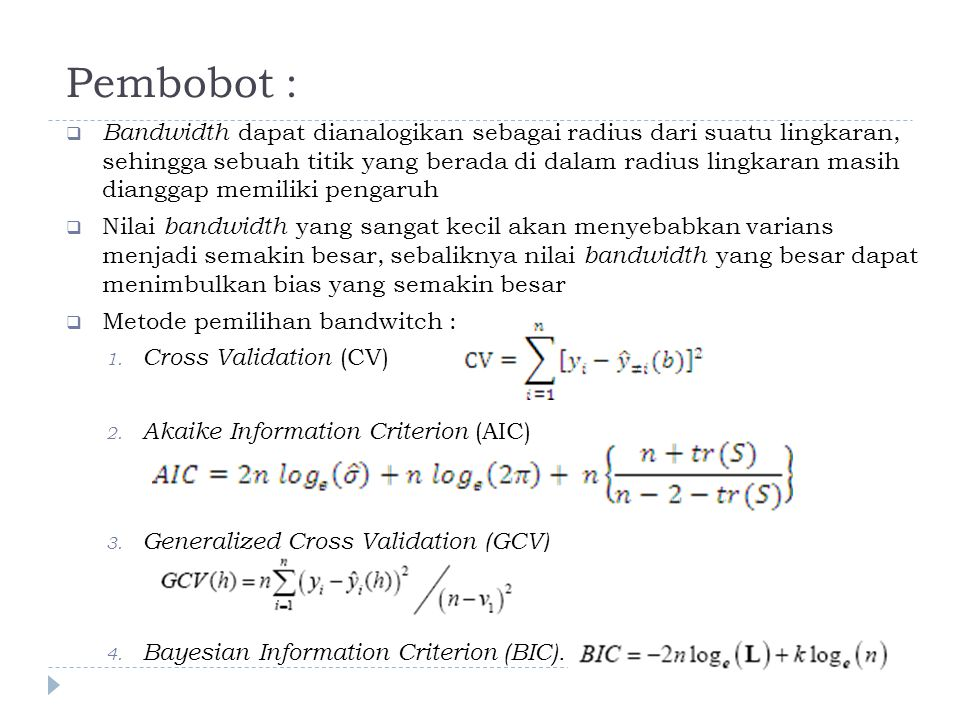 Pembobot :