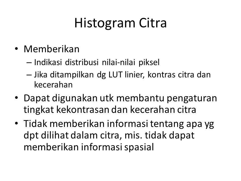 Histogram Citra Memberikan