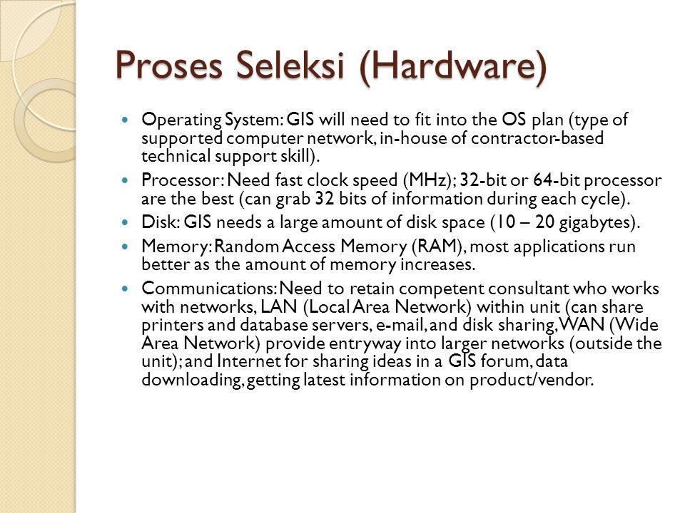 Proses Seleksi (Hardware)