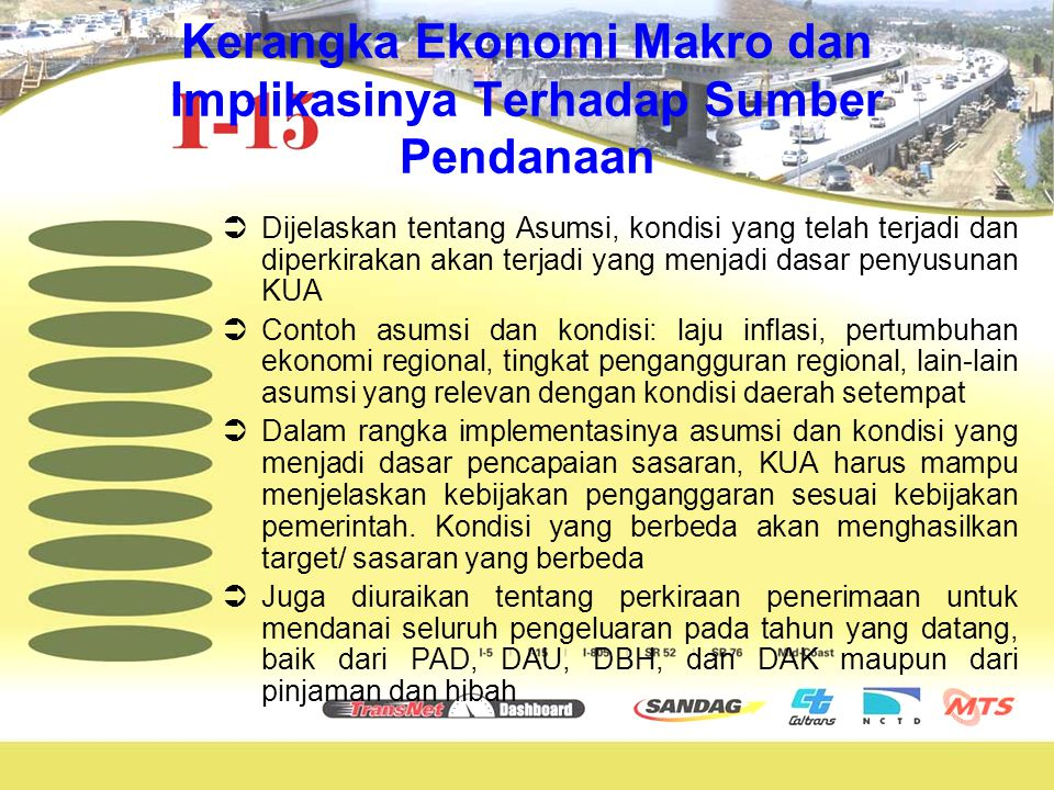 Kerangka Ekonomi Makro dan Implikasinya Terhadap Sumber Pendanaan