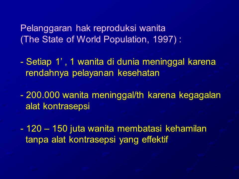Pelanggaran hak reproduksi wanita