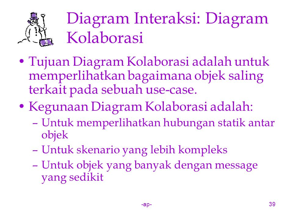 Diagram Interaksi: Diagram Kolaborasi