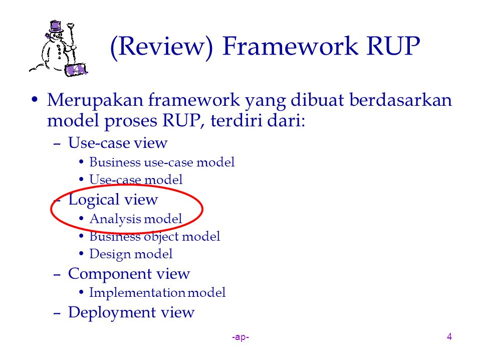 (Review) Framework RUP