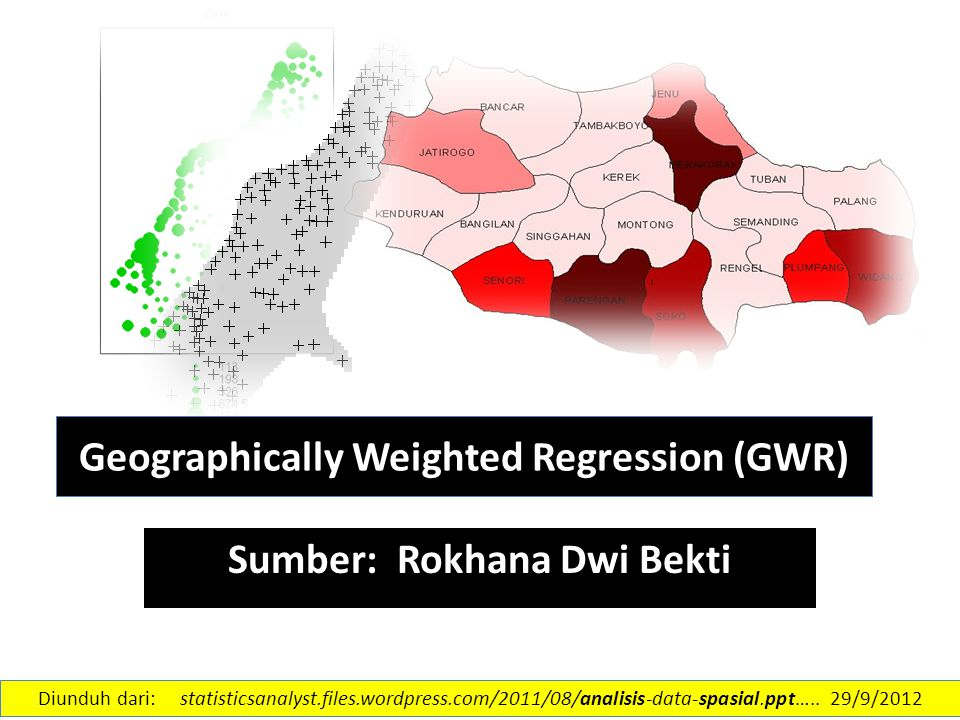 Geographically Weighted Regression (GWR)