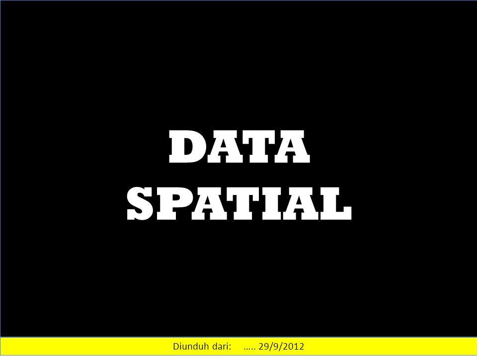 DATA SPATIAL Diunduh dari: ….. 29/9/2012