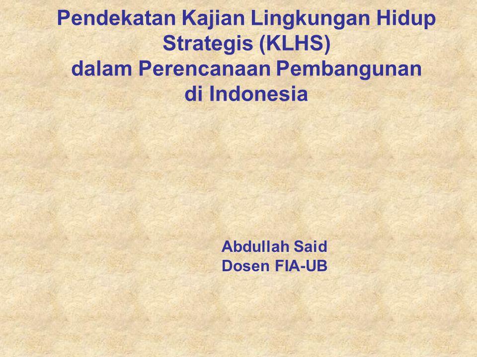 Abdullah Said Dosen FIA-UB
