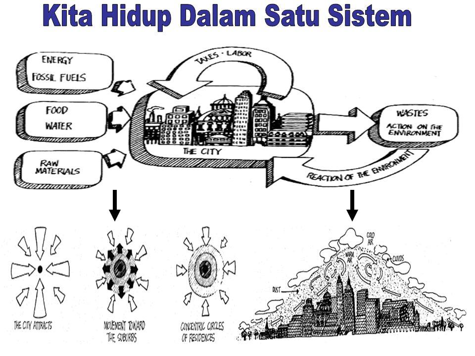 Kita Hidup Dalam Satu Sistem