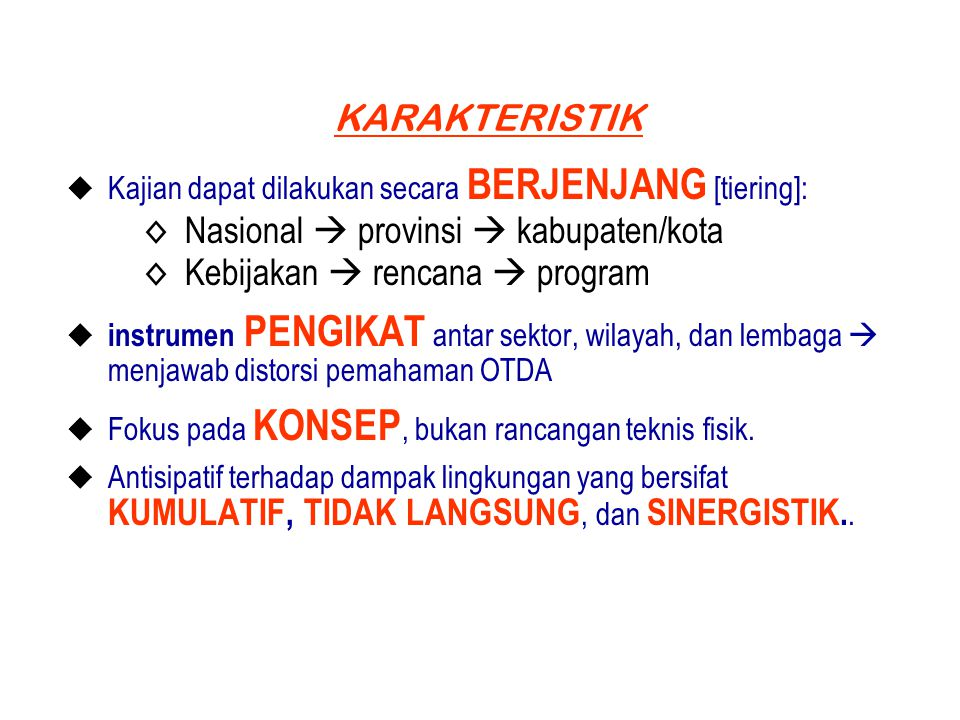 Nasional  provinsi  kabupaten/kota Kebijakan  rencana  program
