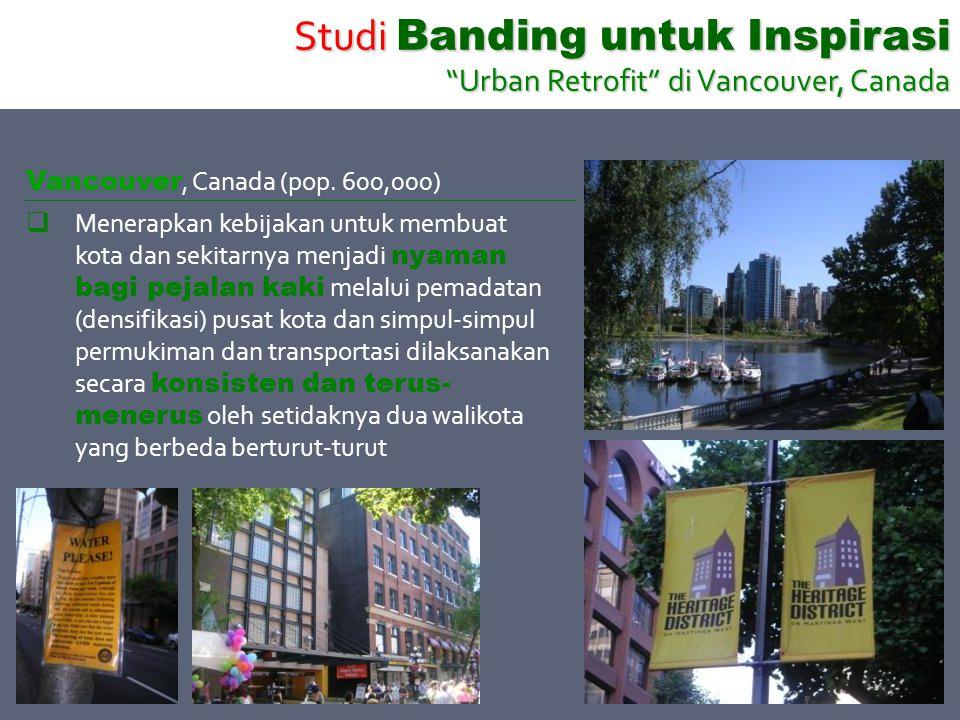 Studi Banding untuk Inspirasi Urban Retrofit di Vancouver, Canada