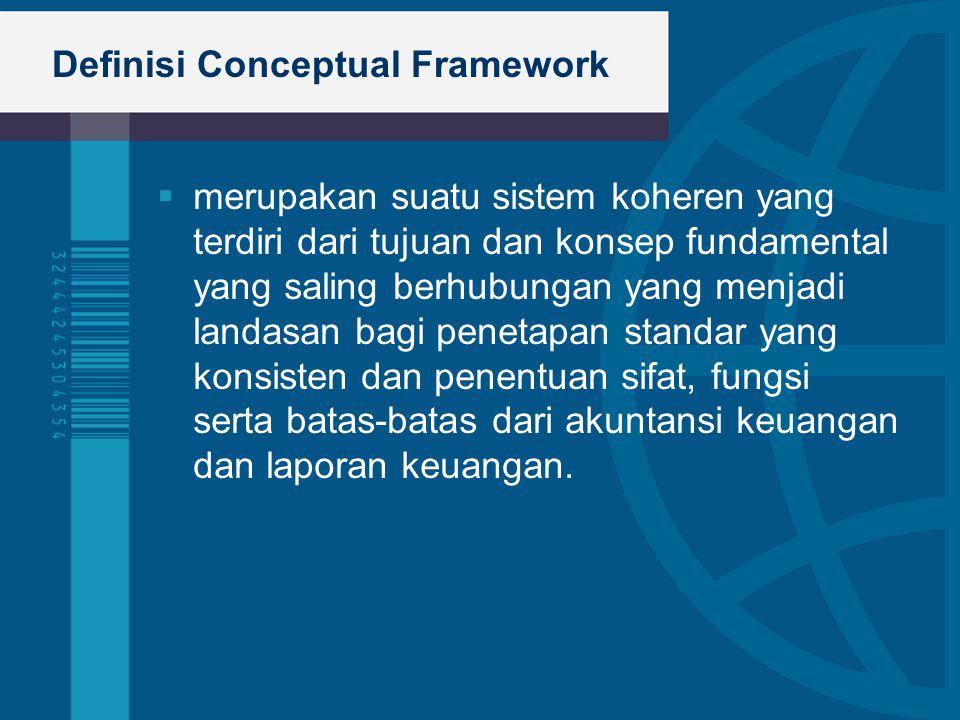 Definisi Conceptual Framework
