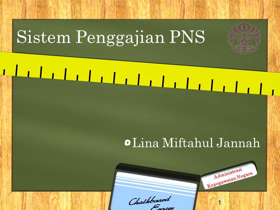 Sistem Penggajian PNS Lina Miftahul Jannah Administrasi