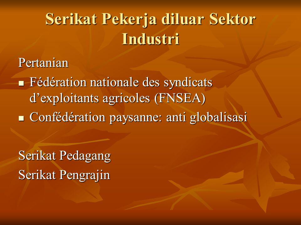 Serikat Pekerja diluar Sektor Industri