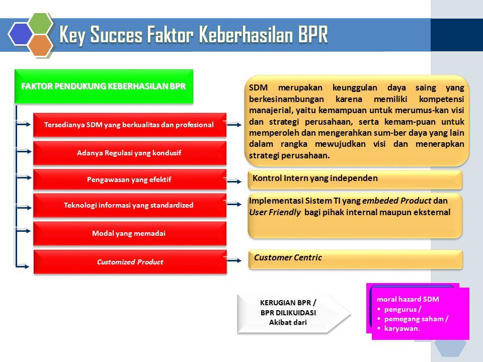 Key Succes Faktor Keberhasilan BPR