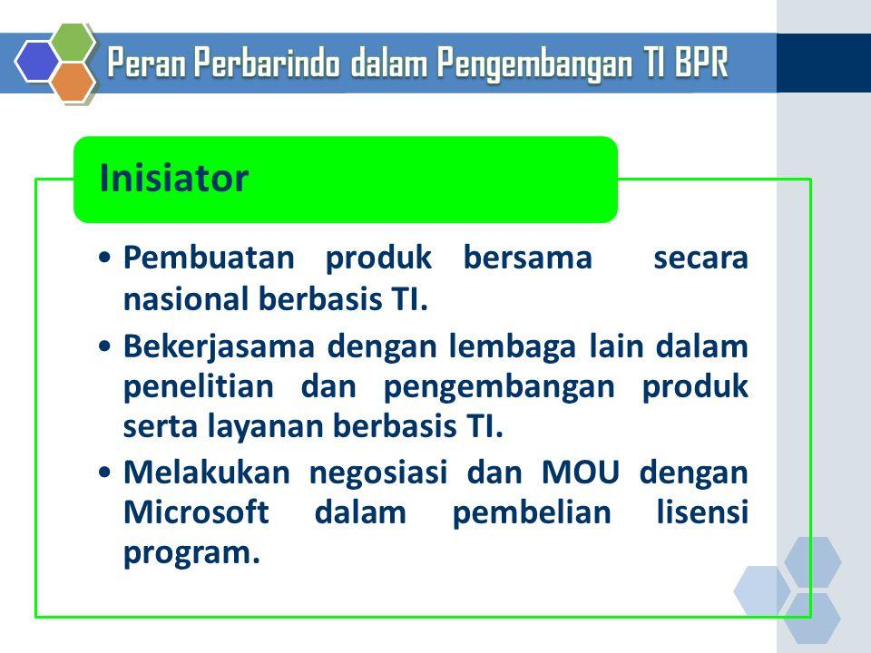 Inisiator Peran Perbarindo dalam Pengembangan TI BPR 31