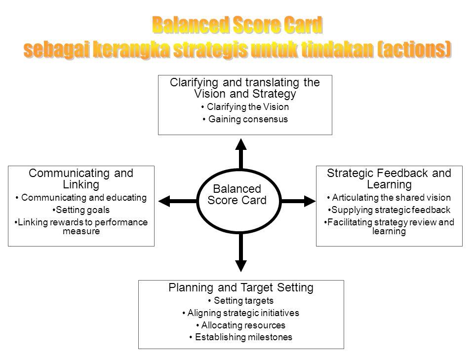 sebagai kerangka strategis untuk tindakan (actions)