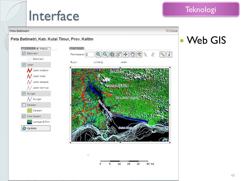 Interface Teknologi Web GIS