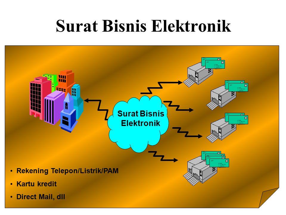 Surat Bisnis Elektronik