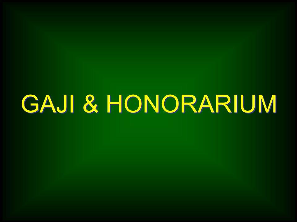 GAJI & HONORARIUM