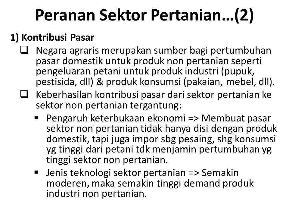 Peranan Sektor Pertanian…(2)
