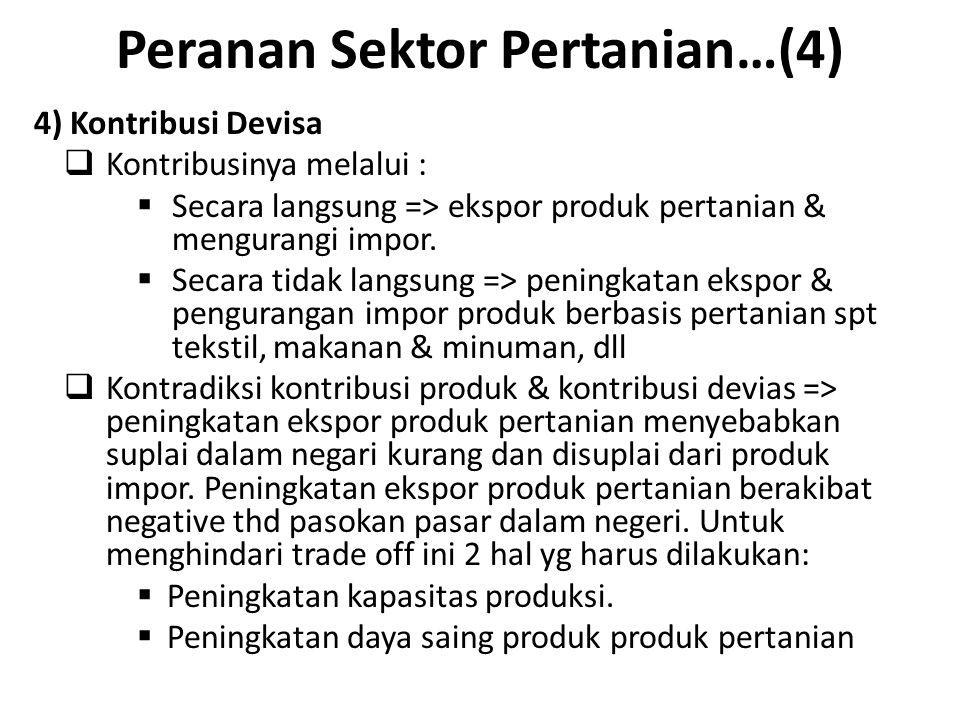 Peranan Sektor Pertanian…(4)