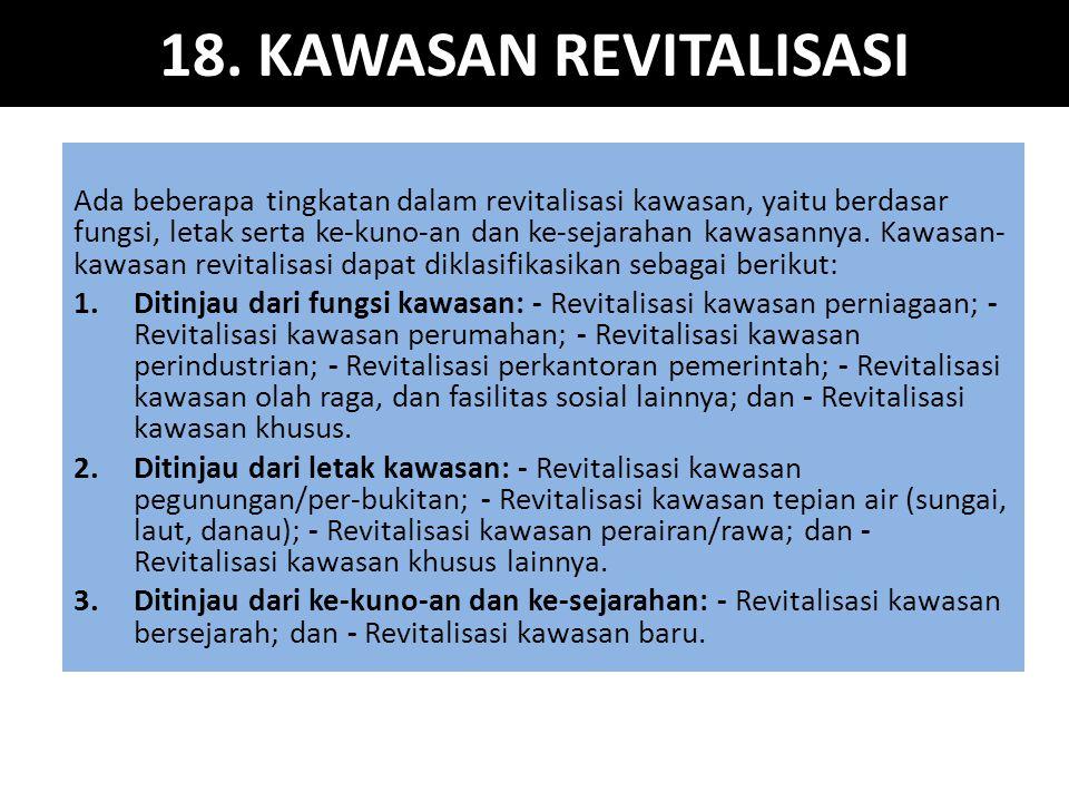 18. KAWASAN REVITALISASI