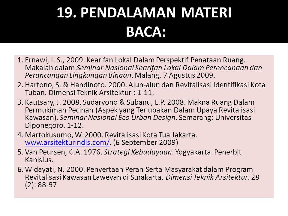 19. PENDALAMAN MATERI BACA: