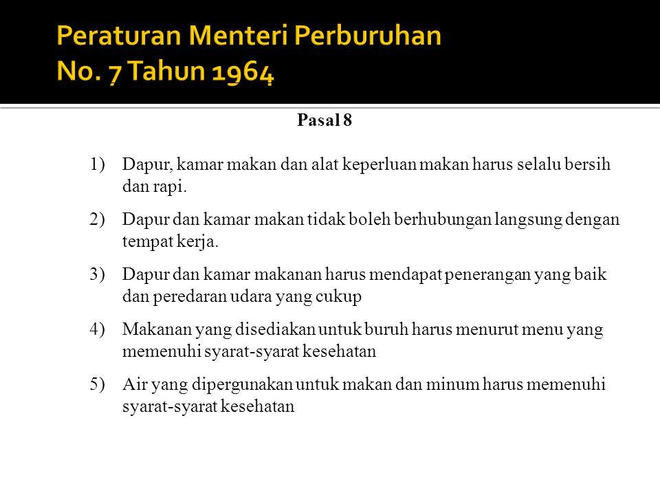 Peraturan Menteri Perburuhan No. 7 Tahun 1964
