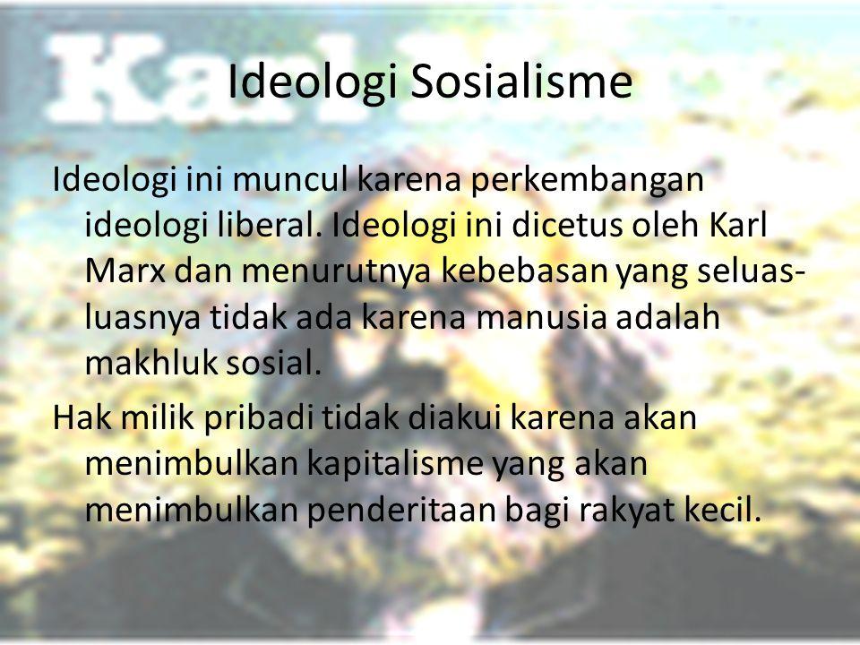 Ideologi Sosialisme