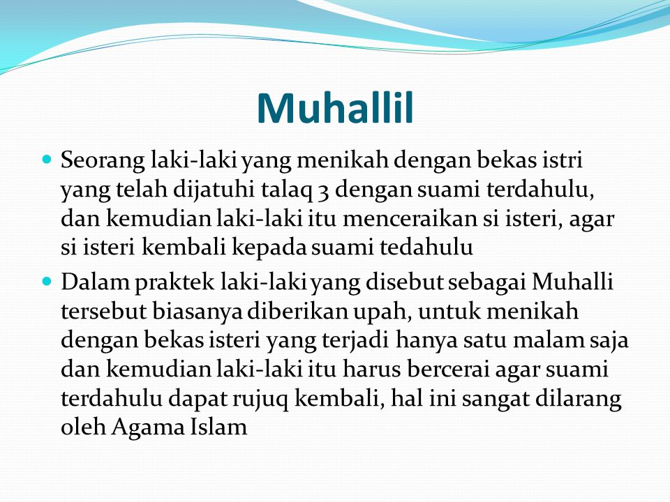 Muhallil