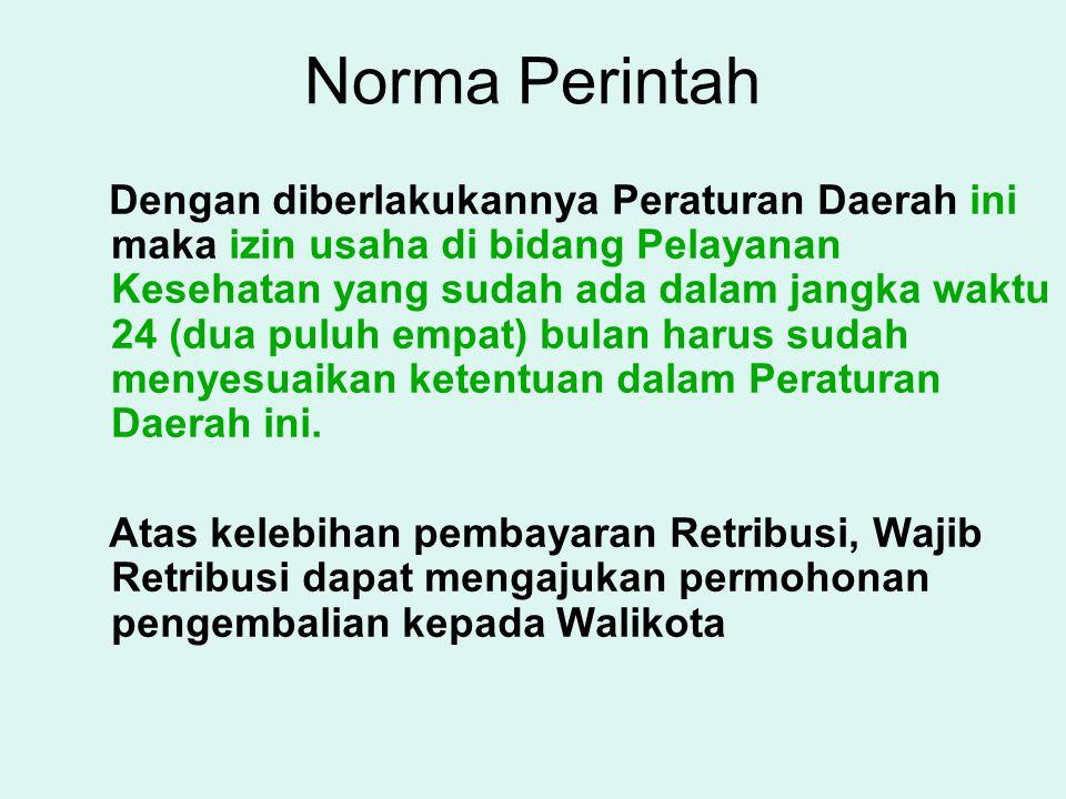 Norma Perintah