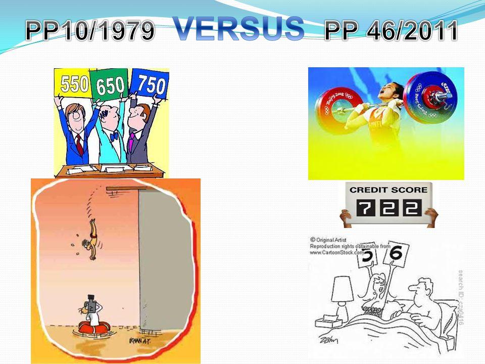 PP10/1979 VERSUS PP 46/2011
