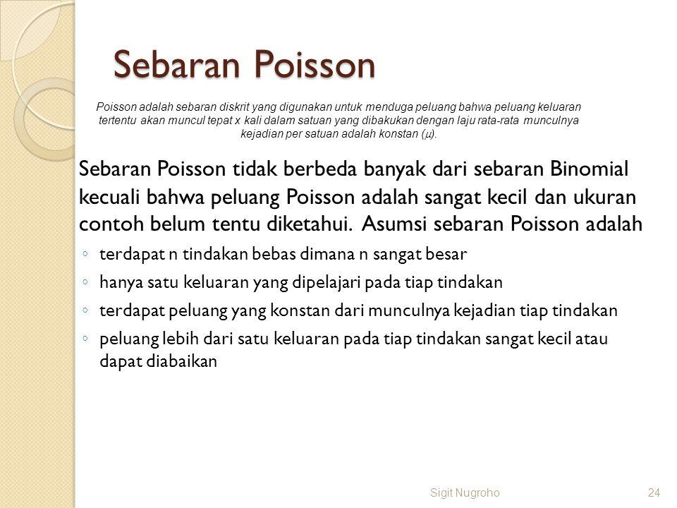 Sebaran Poisson