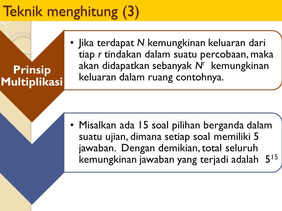 Teknik menghitung (3) Prinsip Multiplikasi