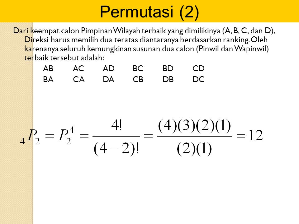 Permutasi (2)