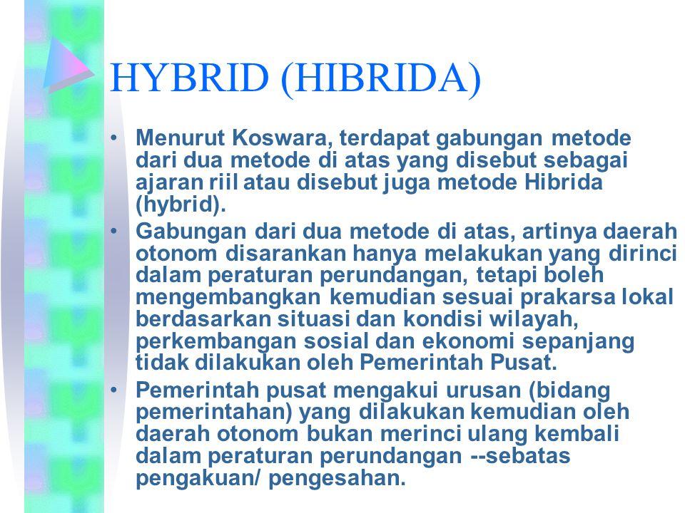 HYBRID (HIBRIDA)