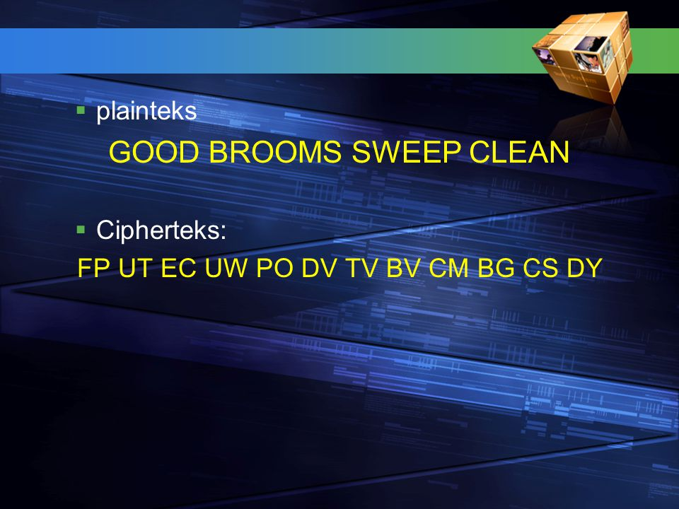 GOOD BROOMS SWEEP CLEAN