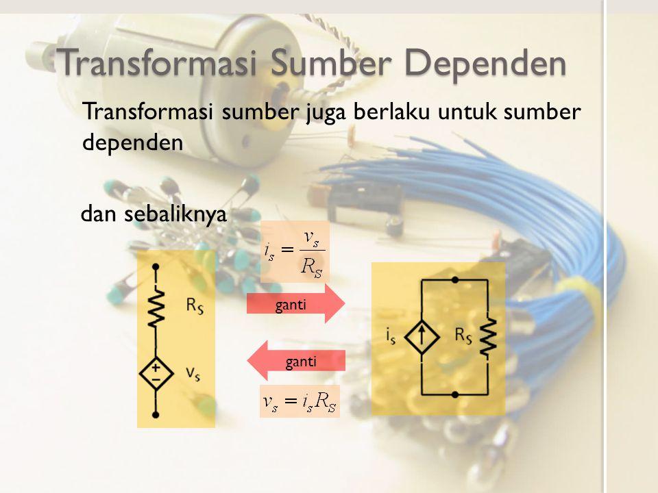 Transformasi Sumber Dependen