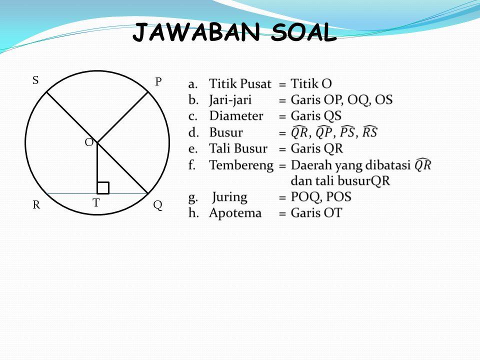 JAWABAN SOAL P Q O T R S