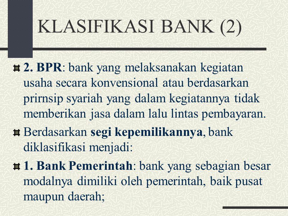 KLASIFIKASI BANK (2)