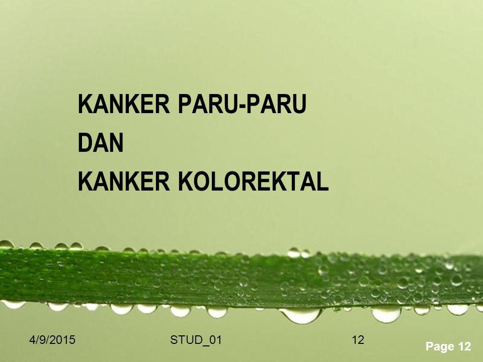 KANKER PARU-PARU DAN KANKER KOLOREKTAL 4/10/2017 STUD_01
