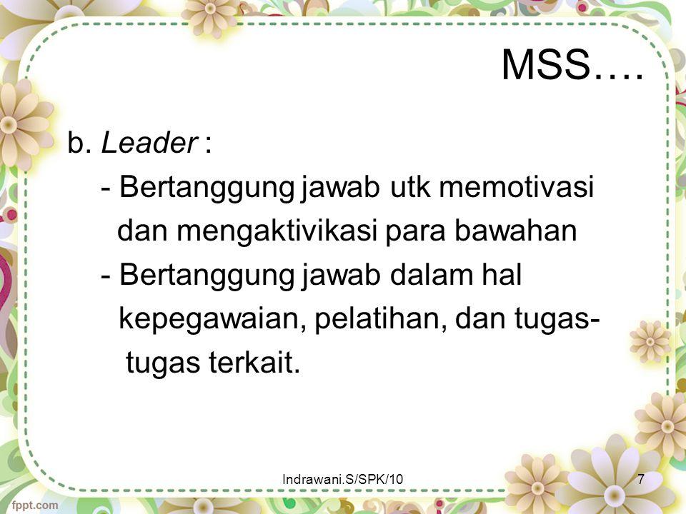 MSS….