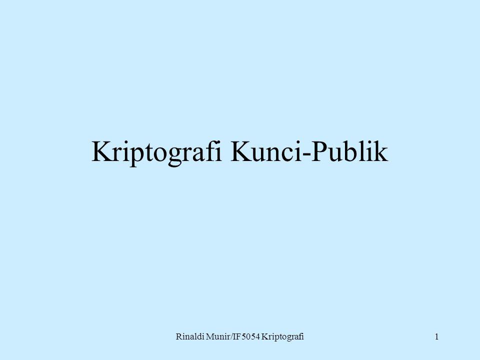 Kriptografi Kunci-Publik