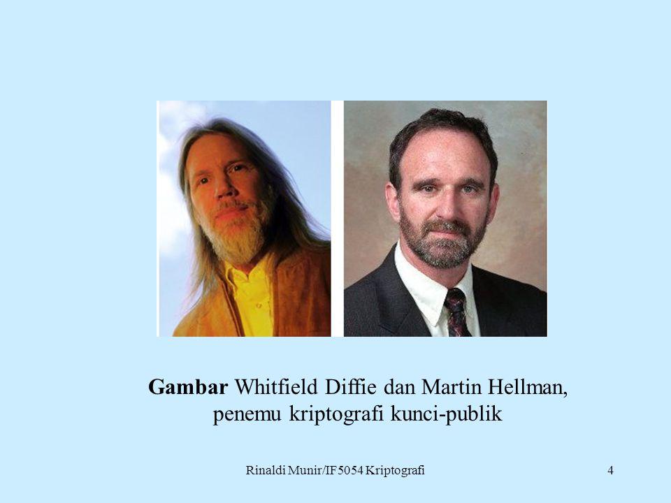 Gambar Whitfield Diffie dan Martin Hellman,