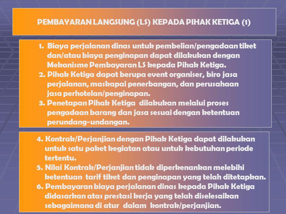 PEMBAYARAN LANGSUNG (LS) KEPADA PIHAK KETIGA (1)