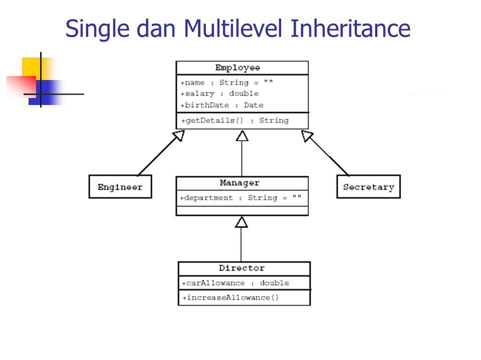 Single dan Multilevel Inheritance